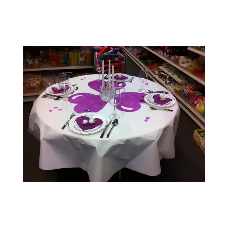 Id es de d corations de tables for Decoration table ronde