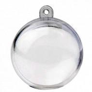 Boule transparente diam. 5 cm