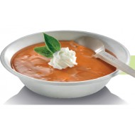 50 Bols à soupe avec bord, canne à sucre, 400 ml, 18 cm de diam.
