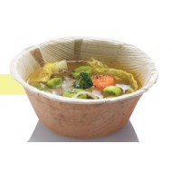 25 Suppenbowl rund, Palmblatt, D 14,2cm, 500ml