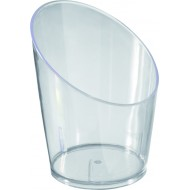 Verrine food tube, PS, 4,5x5,8 cm, 3,5 cl