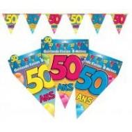Guirlande fanion 50 ans