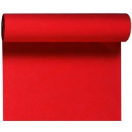 1 Dunicel-Tischläufer Tête-à-Tête, 0,40 x 24 m rot