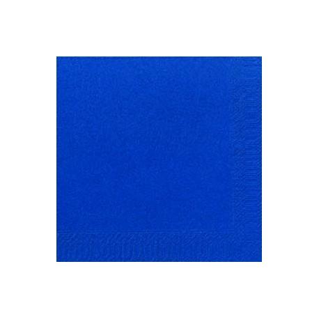 Serviettes Dunilin bleu foncé, 40 x 40, 1/4