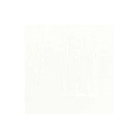 50 Servietten Klassik, weiss, 40 x 40, 1/4