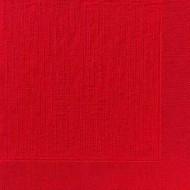 50 Serviettes classic rouge, 40 x 40, 1/4