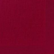 Serviettes classic bordeaux, 40 x 40, 1/4