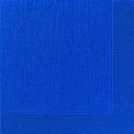50 Serviettes classic, bleu foncé, 40 x 40, 1/4