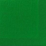 50 Serviettes classic vert chasseur, 40 x 40, 1/4