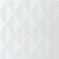 40 Elegance-Servietten Crystal, weiss, 40 x 40, 1/4