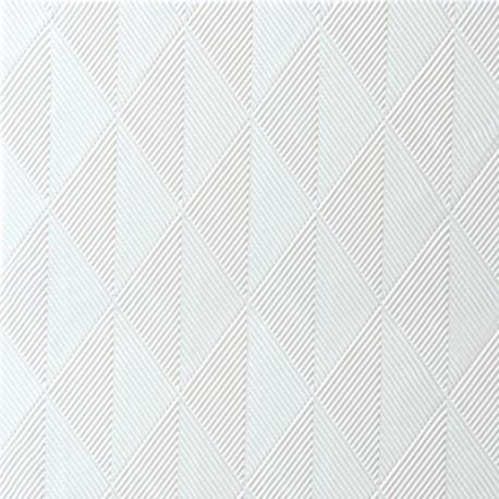 Serviettes Elégance cristal Blanc, 40 x 40, 1/4