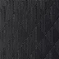 40 Elegance-Servietten Crystal schwarz, 40x40,1/4