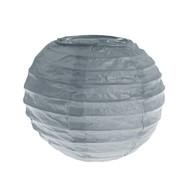 Lanterne XS, papier, 7,5 cm, sachet de 2 pièces, gris