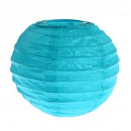 Lanterne XS, papier, 7,5 cm, sachet de 2 pièces, turquoise