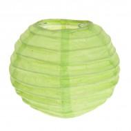 Lanterne XL, papier, 50 cm, sachet de 1 pièce, vert