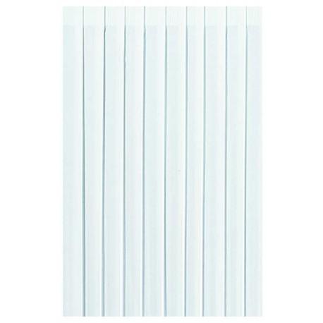 Volants de table Dunicel 0,72 x 4 m, blanc