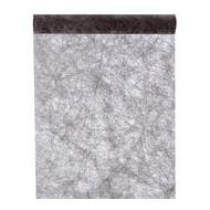 Chemin de table fanon, noir uni , 0.30m x 5m