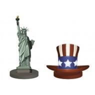 4 marque place, USA, 6cm et 4.5cm