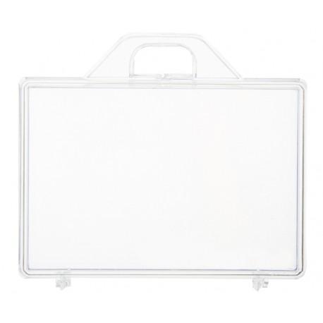 Boîte valise transparente