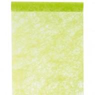 Chemin de table fanon vert 0.30 cm x 5 mètres