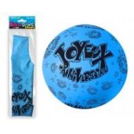 "1 Riesiger Ballon ""Joyeux anniversaire"" blau Ø 1m16"