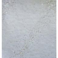 Chemin de table voie lactée argent pailletée or, 30cmx5m
