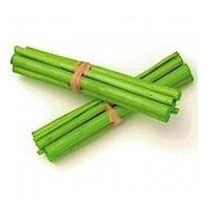 Déco fantaisie tige bambou 8 cm (12x)