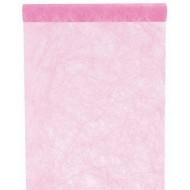 """Tischläufer, """"Fanon"""", pink, 30 cm x 5 meter"""