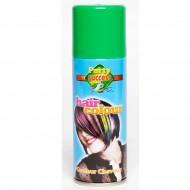 Laque pour cheveux couleur verte