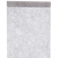 """Tischläufer """"Fanon"""", Grau, 0.30 cm x 5 meter"""