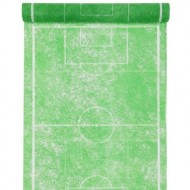 """Tischläufer """"Fanon"""" Fussball, grün 0.30 cm x 5 meter"""
