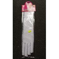 Longs gants en dentelle, blanc