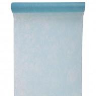 """Tischläufer, """"Fanon"""", Hellblau, 30 cm x 5 meter"""