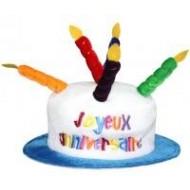 Chapeau anniversaire joyeux anniversaire