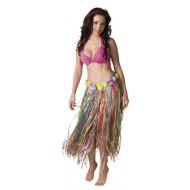 Hawaï Rok, Erwachsene, 90 cm, Lange 80 cm, bunt