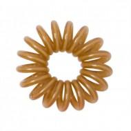 12 Bracelets ressorts, plastique, chocolat