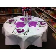 Idée décoration de table ronde