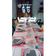 Table réalisée pour un anniversaire