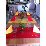 Idée décoration de table colorée