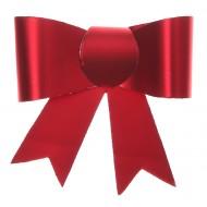 4 Petits noeuds, autocollant, rouge, 5 x 4.5 cm
