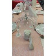 Idées décoration de table, mariage en dentelle