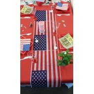 Idée décoration de table thème USA