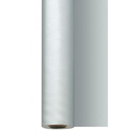 Rouleau de nappe Dunisilk 1,20 x 25 m, argent