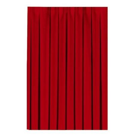 Dunicel-Tableskirtings, uni 0,72 x 4 m, rot