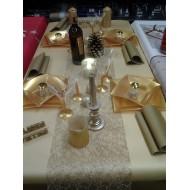 Idée décoration de table Gold is Gold