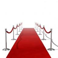 tapis rouge en papier non tissé 1mx15m