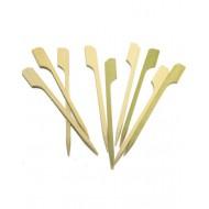 200 spatules japonaise en bambou 9cm