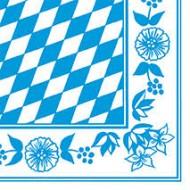 50 Serviettes 33x33 3 couches Oktobertfest