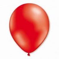 Ballons rouges 100% latex