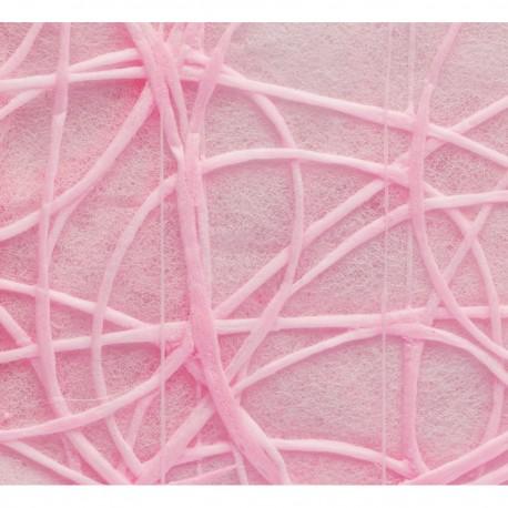 """Tischläufer """"Shibuya"""", Vlies, 30 cm x 5 m, pink"""
